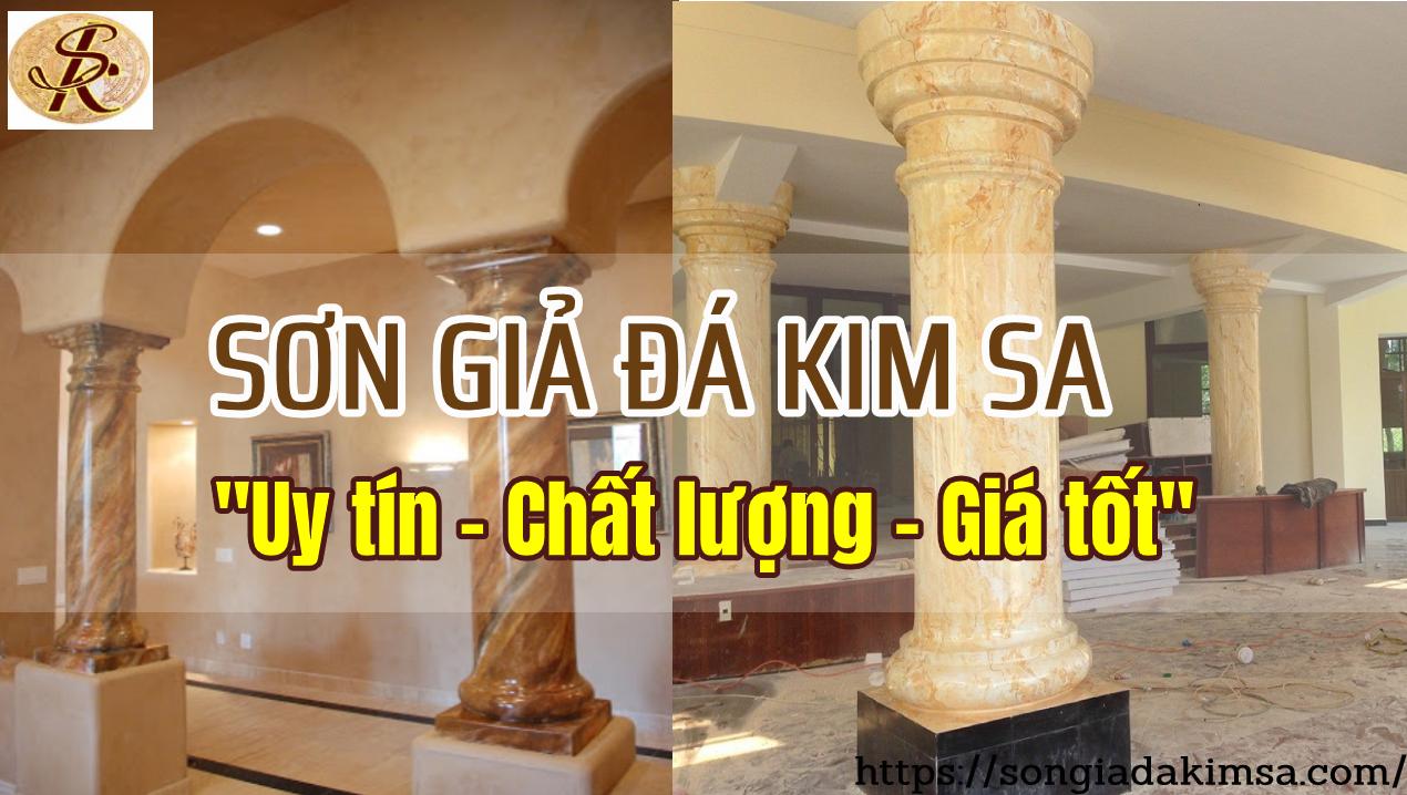 sơn giả đá Kim Sa